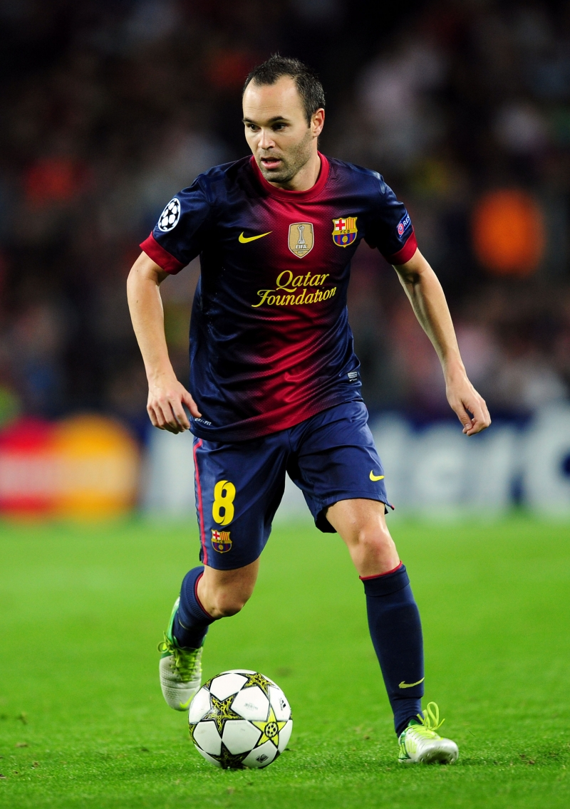 Ảo thuật gia Andres Iniesta