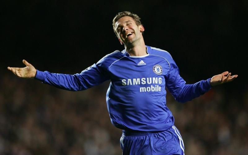 Quãng thời gian đáng quên của Shevchenko ở Chelsea