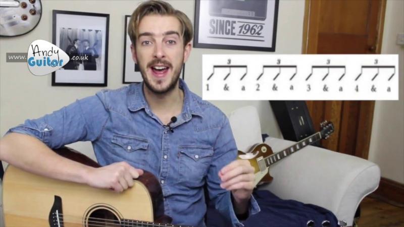 Chú thích rõ ràng trên video của Andy Guitar