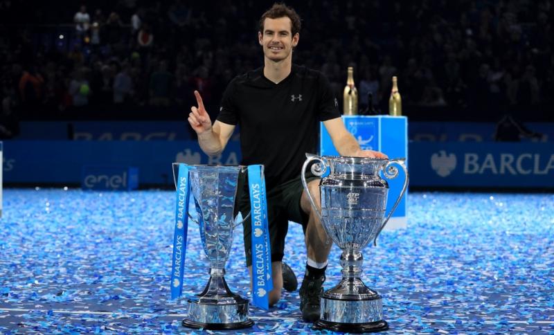 Năm 2016 là năm thành công của Murray