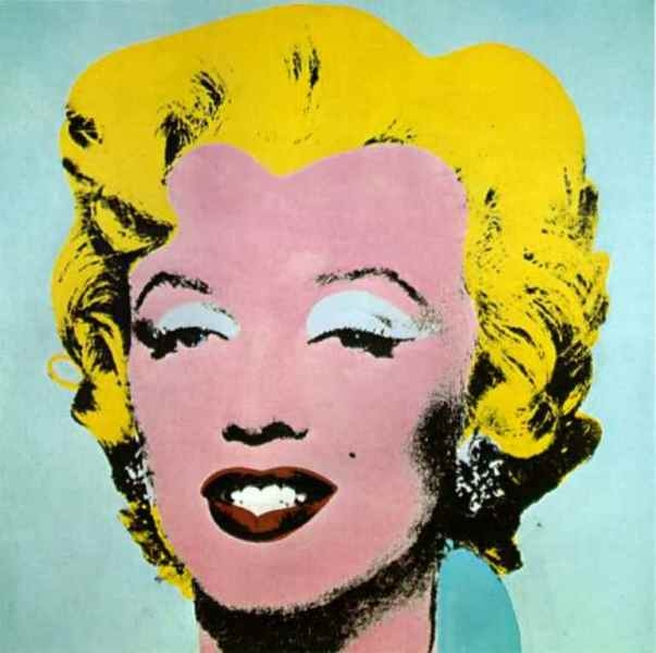 Bức họa Marilyn Monroe nổi tiếng