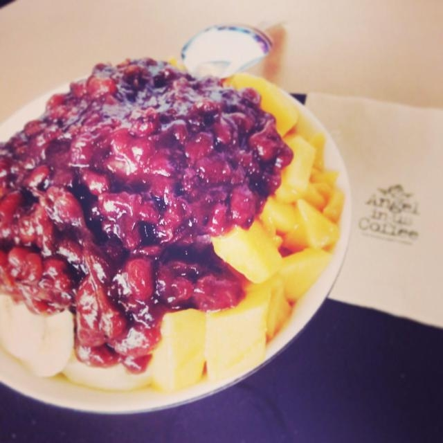 Patbingsu tại Angel In US Coffee - Lotte Center