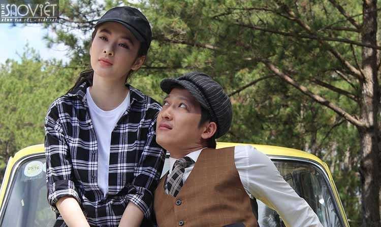 Angela Phương Trinh đóng cùng Trường Giang trong bộ phim