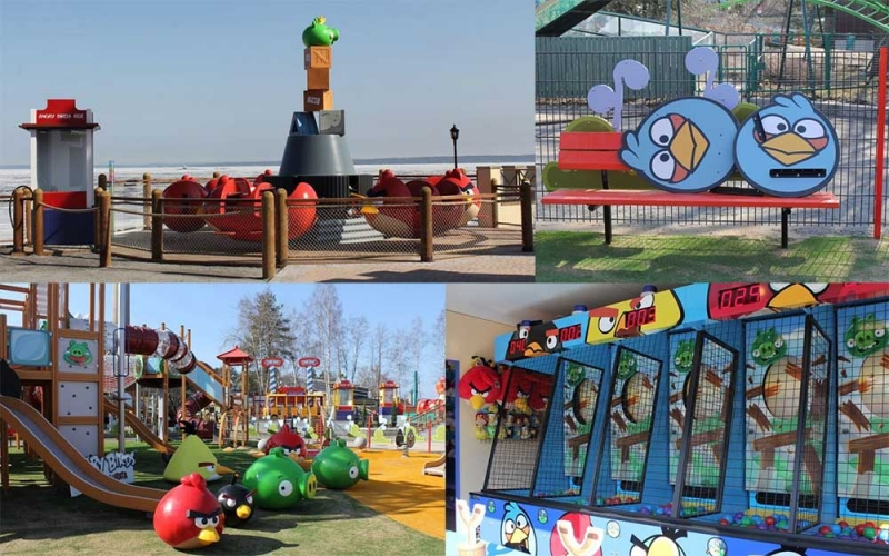 Angry Birds Land thorpe park