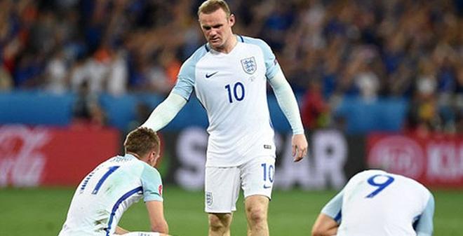 Đội tuyển Anh bị loại khỏi Euro 2016