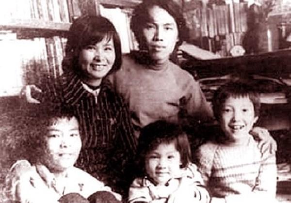 Gia đình Lưu Quang Vũ - Xuân Quỳnh và ba con