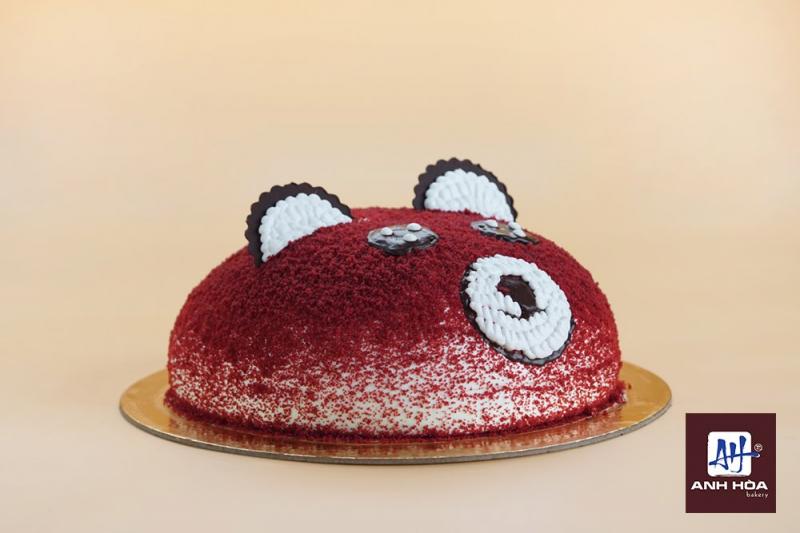 Chiếc bánh sinh nhật đơn giản mà dễ thương