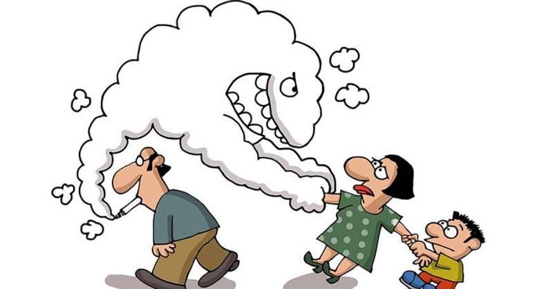 Khói thuốc lá ảnh hưởng tới sinh hoạt đời sống hàng ngày