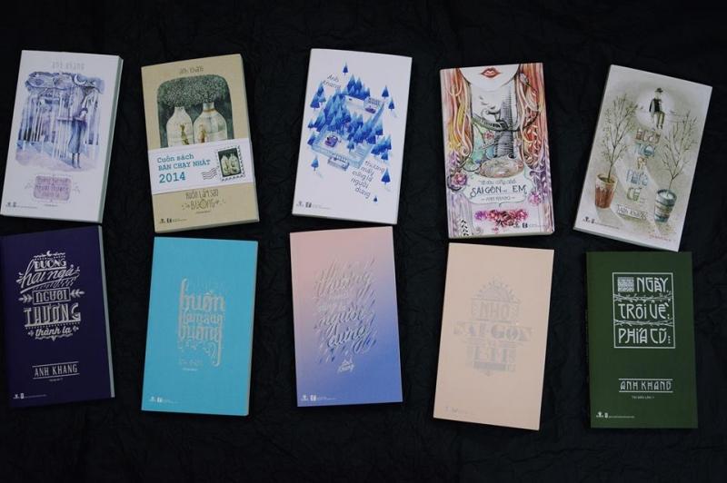Những cuốn sách đã được cho ra mắt của tác giả