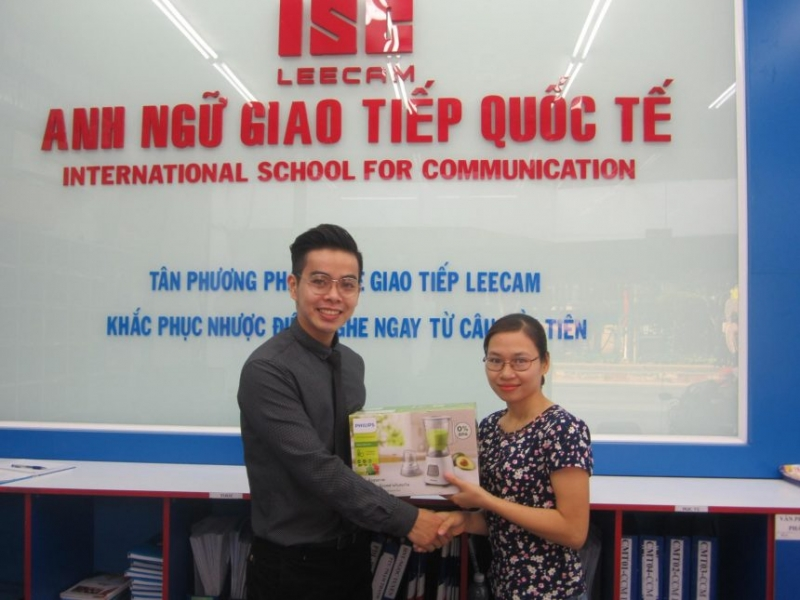 Anh ngữ giao tiếp quốc tiếp ISC