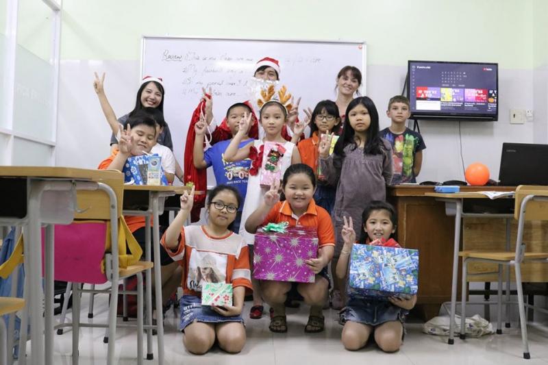 Học viên trong dịp giáng sinh