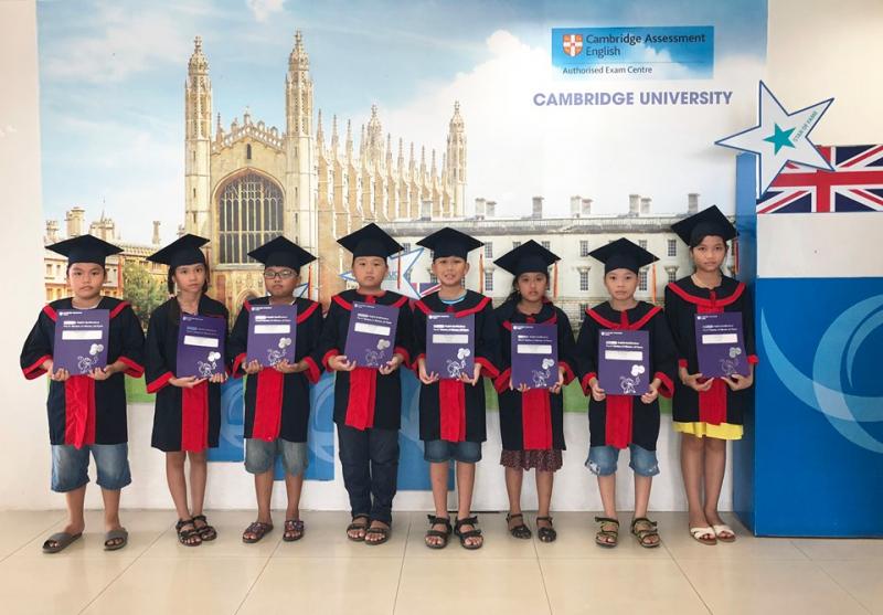 EUC Cam kết đầu ra theo chuẩn Cambridge và MIỄN PHÍ thi lấy chứng chỉ tiếng Anh Quốc tế của ĐH Cambridge có giá trị toàn cầu