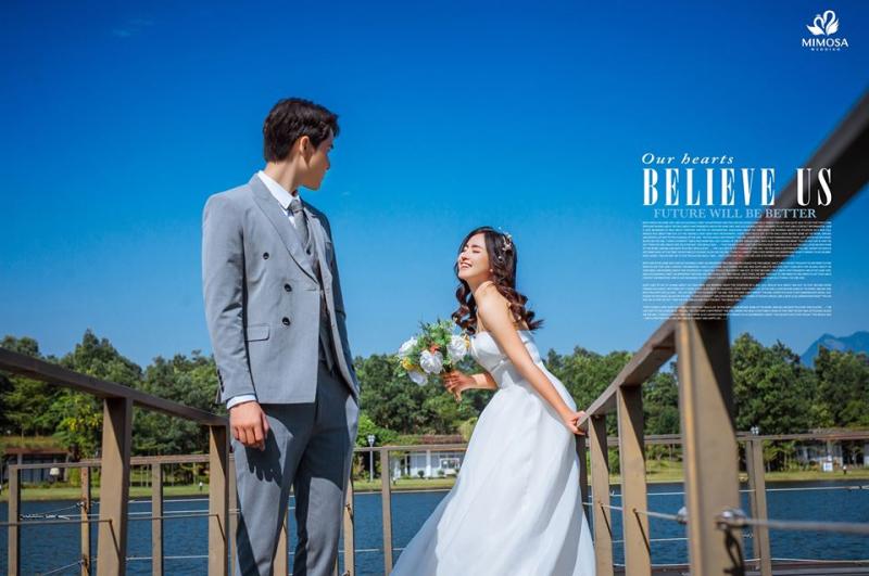 Mimosa Wedding