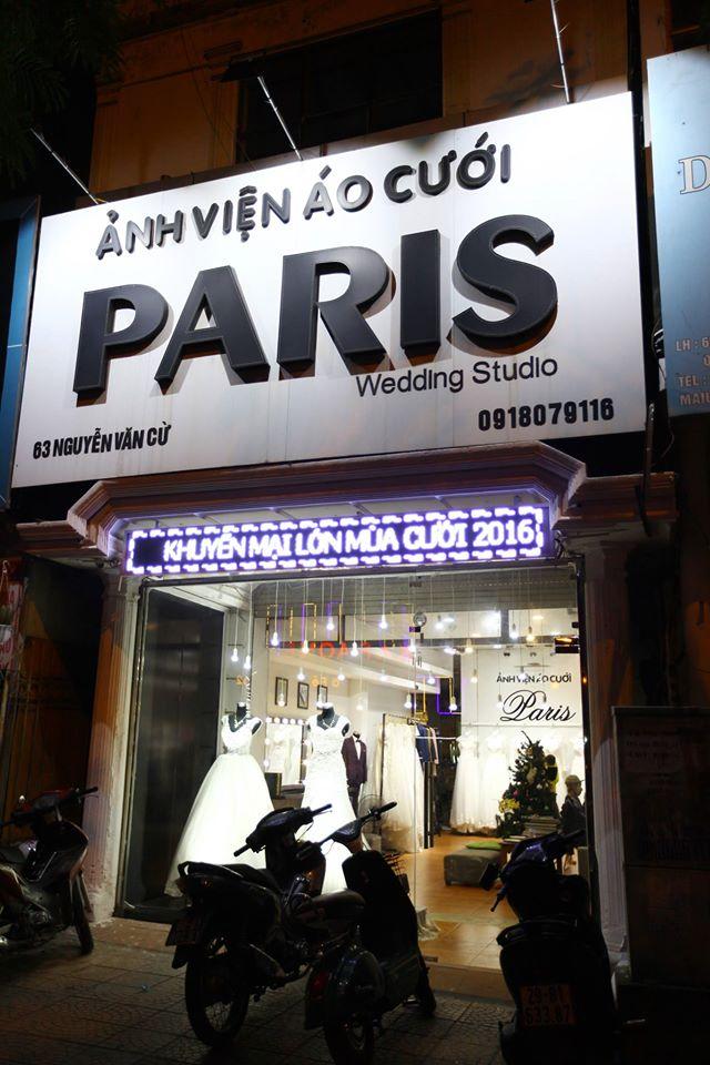 Ảnh Viện Áo Cưới Paris