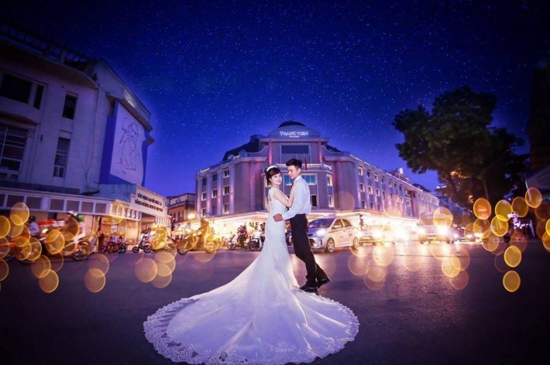 Ảnh viện áo cưới Romantic