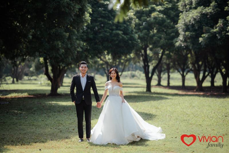 Ảnh viện áo cưới Vivan