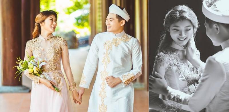 Ảnh viện áo dài, áo cưới Moza Wedding