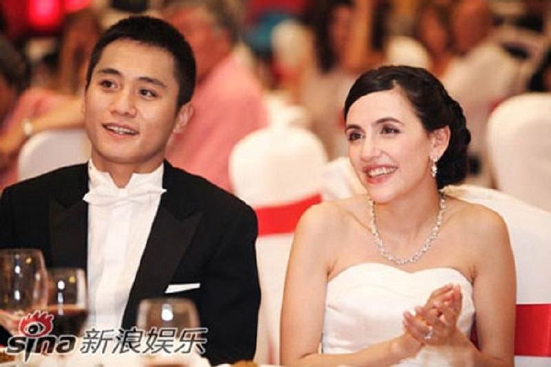 Cô vợ Pháp xinh đẹp của nam diễn viên Lưu Diệp