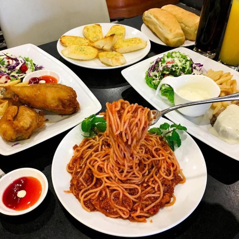 Mỳ Ý và những món Âu hấp dẫn khác