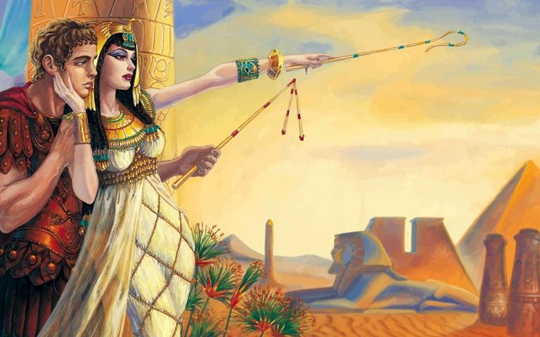 Ngày tháng hạnh phúc của Antony và Cleopatra