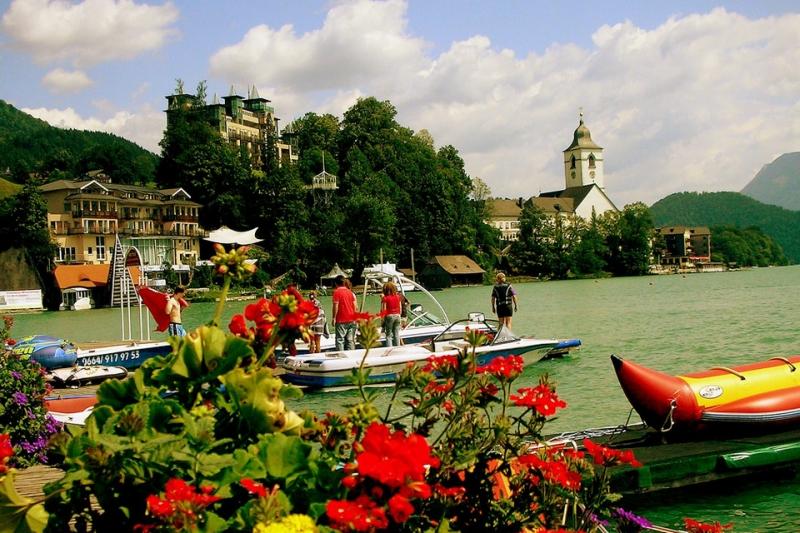Nước Áo xinh đẹp và an toàn với tỉ lệ tội phạm trong top thấp nhất thế giới.