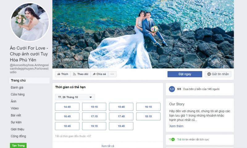 Áo Cưới For Love - Chụp ảnh cưới Tuy Hòa, Phú Yên