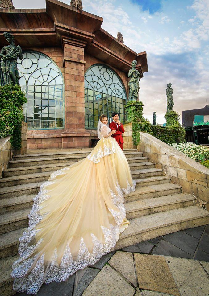 Áo cưới HANA khưunam