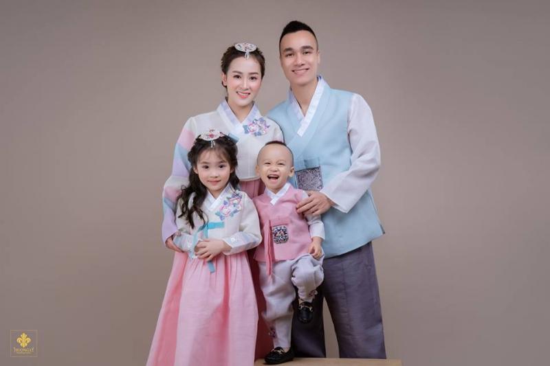 Phong cách chụp ảnh gia đình Hàn Quốc