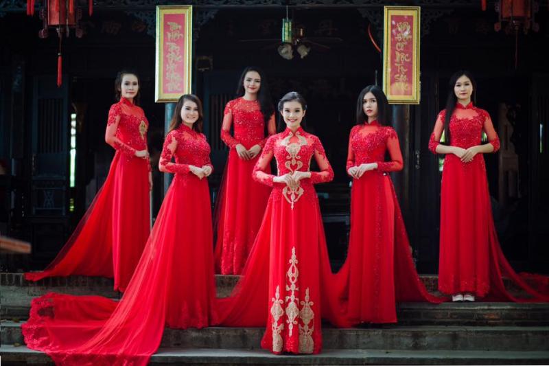 Áo cưới Khánh Beauty – Cho thuê áo dài cưới hỏi, bưng quả đẹp nhất Quảng Ngãi.