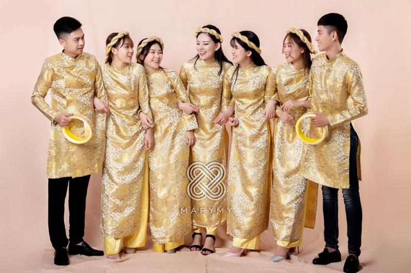 Mẫu áo dài tại Áo cưới Khánh Ly