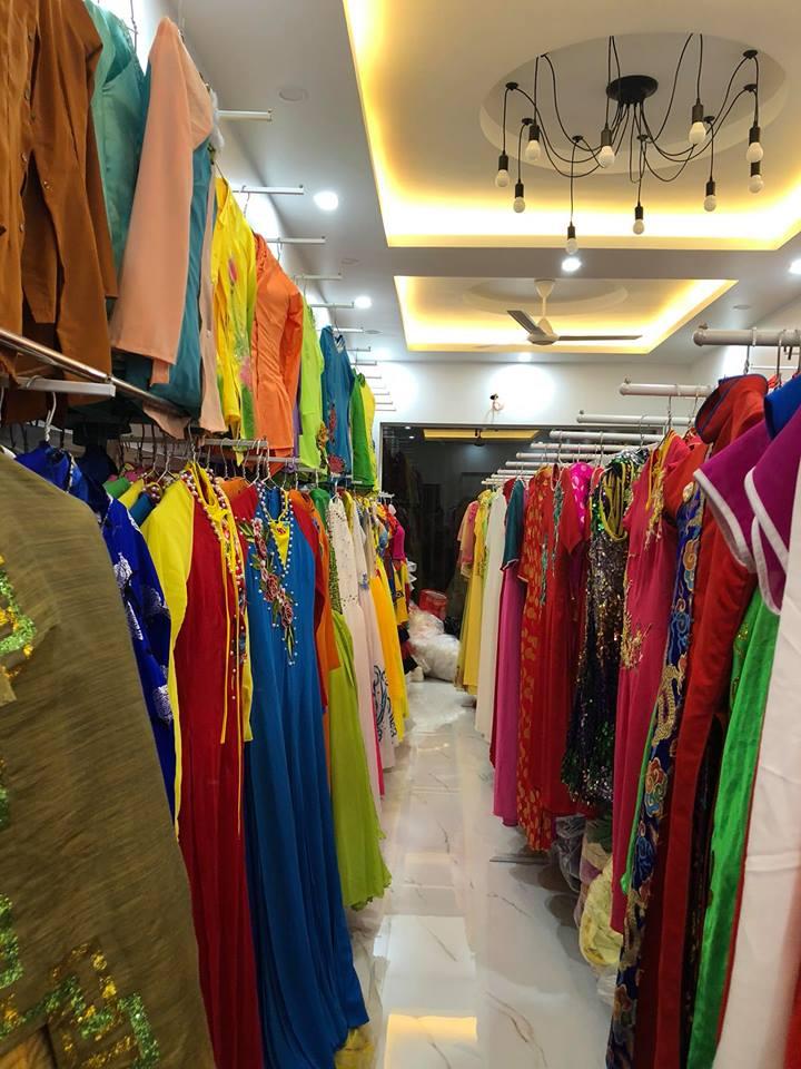Sản phẩm áo dài cưới đa dạng tại shop
