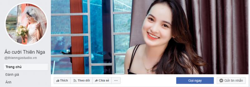 Fanpage của Áo cưới Thiên Nga