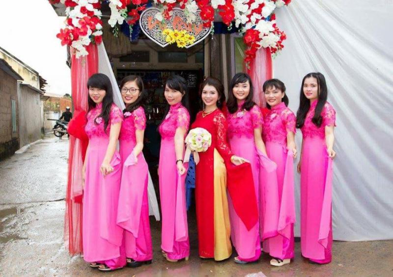 Áo cưới, trang điểm, studio Thu Thiện – Cho thuê áo dài cưới đẹp tại Phan Rang