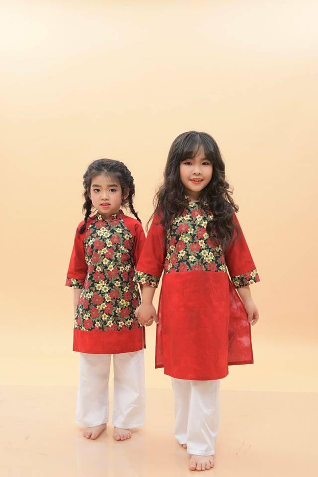 Áo dài Caramella là cửa hàng chuyên bán áo dài cách tân cho bé