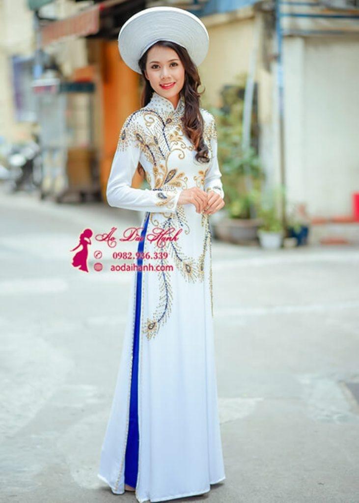 Áo dài cô dâu đẹp tại Hạnh