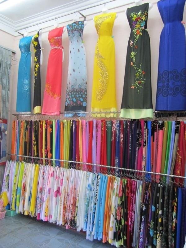 Nhiều chủng loại vải, chất lượng tốt, giá cả hợp lý tại Chi Silk