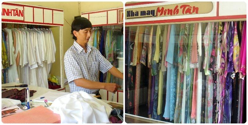 Nhà may Minh Tân luôn gắn bó và song hành cùng tà áo dài truyền thống