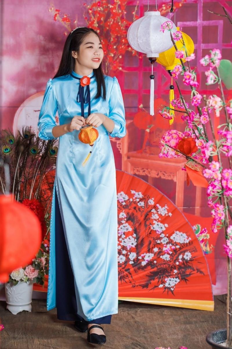 Áo dài Kim Ngân luôn đáp ứng tối đa yêu cầu của khách hàng