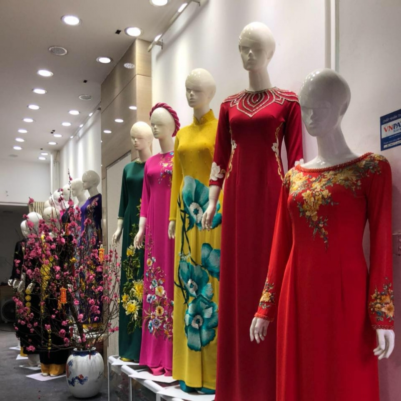 Một số mẫu áo dài tại Phan Hằng