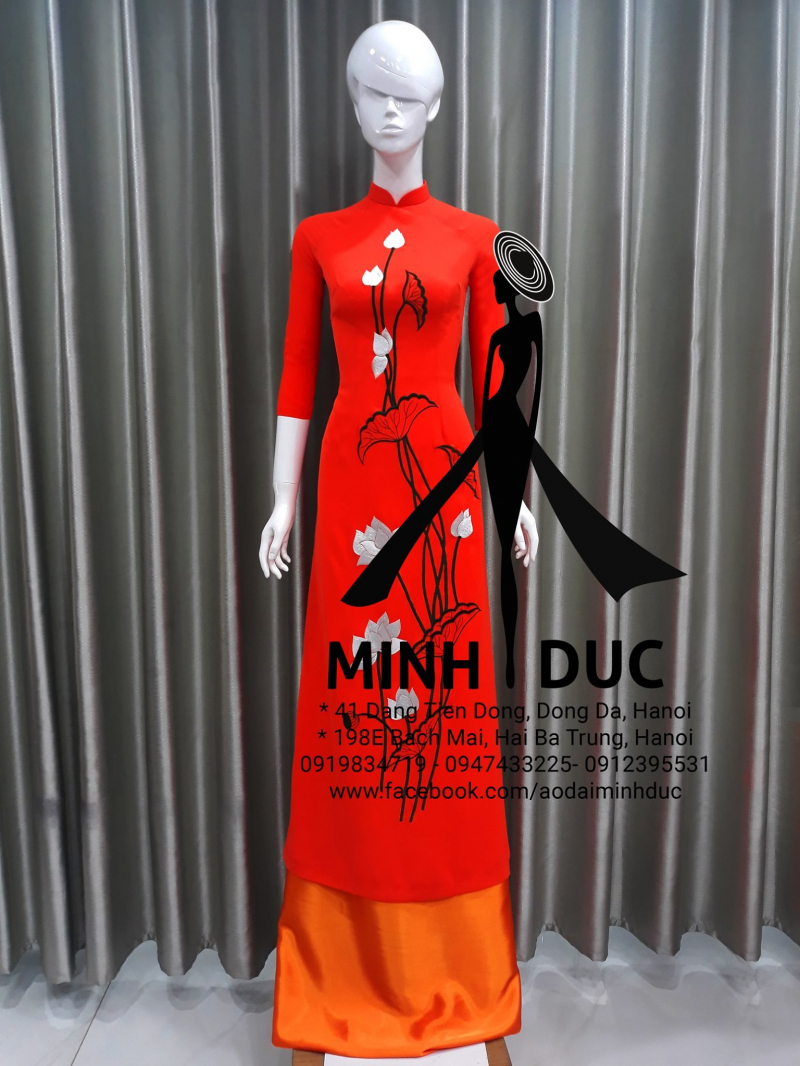Kiểu áo dài tại áo dài Minh Đức