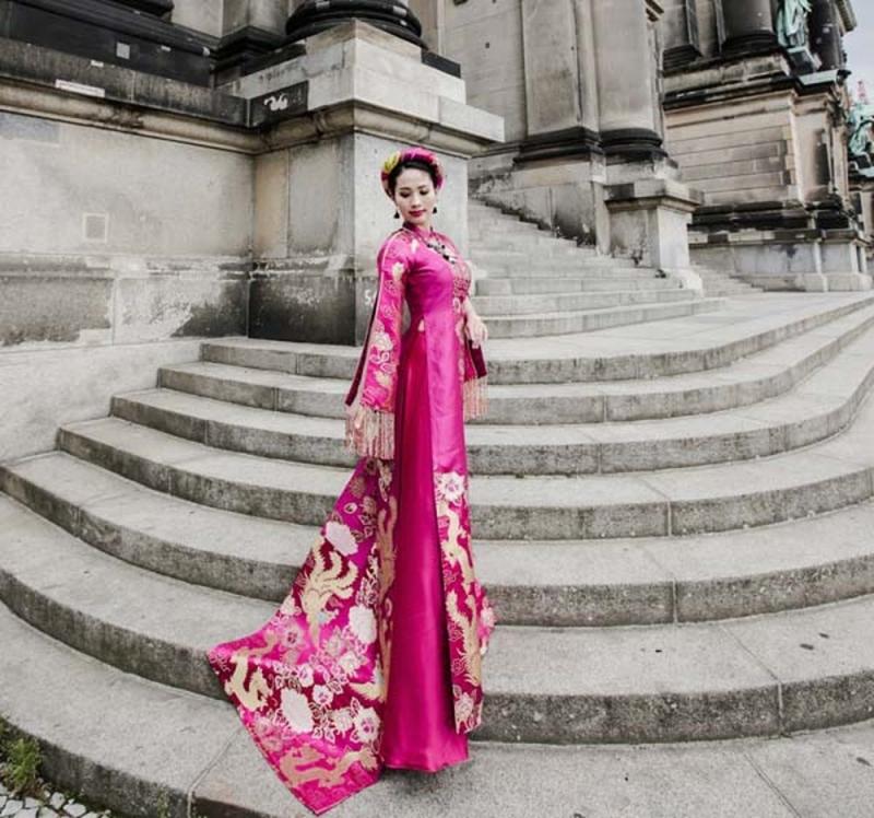 Đẹp, đẳng cấp, độc quyền là nét độc đáo của áo cưới Ngân An
