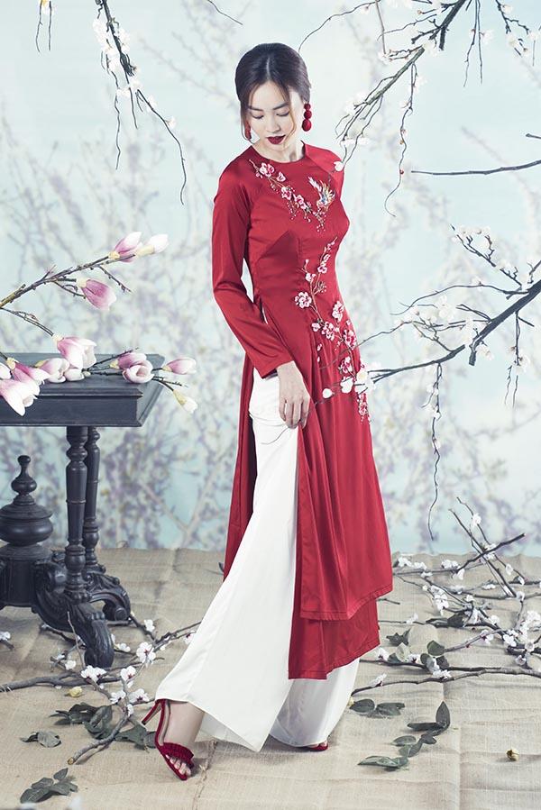 Top 12 kiểu áo dài đẹp nhất cho ngày Tết Nguyên Đán