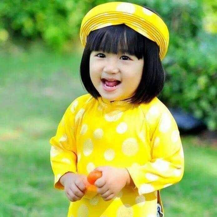 Áo dài trẻ em Thanh Liêm - Shop bán áo dài trẻ em đẹp nhất Hà Nội