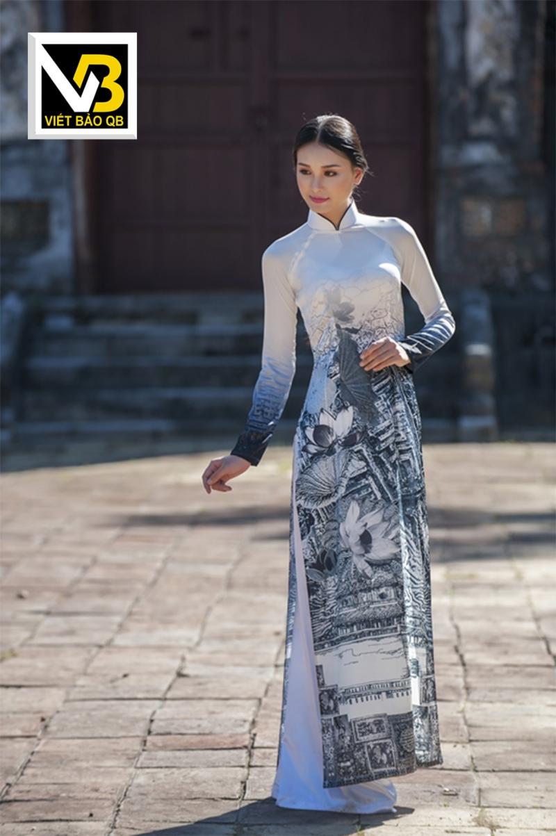 Áo dài Viết Bảo Qb - sự khác biệt nhưng không đánh mất vẻ đẹp tinh hoa truyền thống