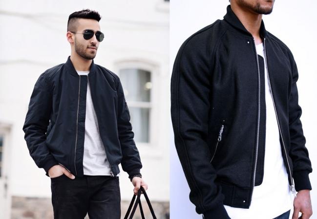 Áo khoác Bomber jacket