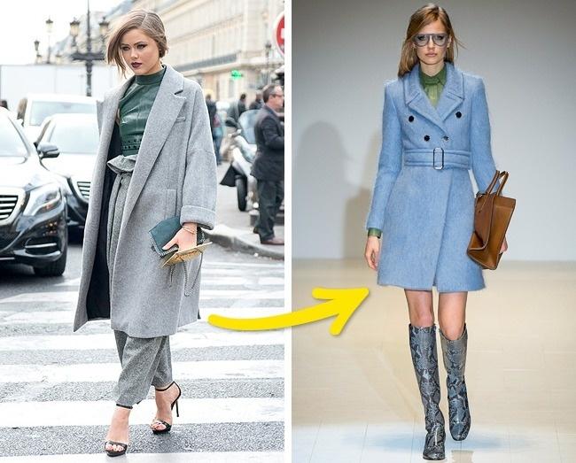 Áo khoác thắt đai sẽ thay thế cho những chiếc áo oversize lỗi thời