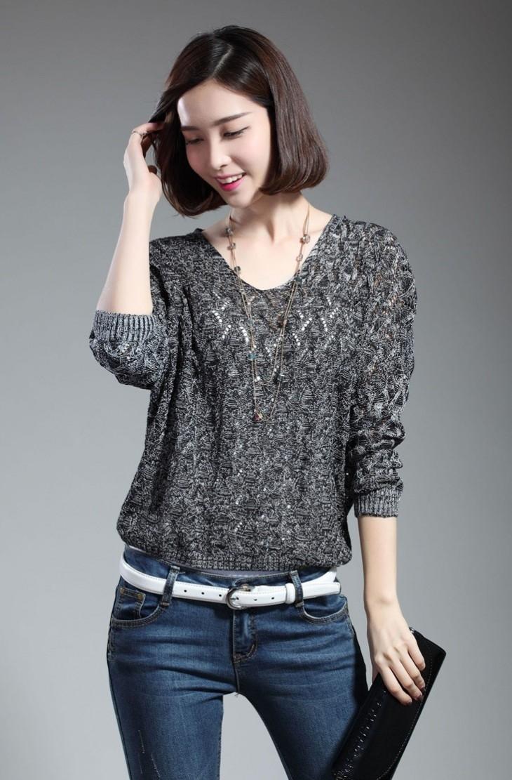 Áo len dệt kim không chỉ giúp bạn giữ ấm mà còn mang đến vẻ đẹp năng động