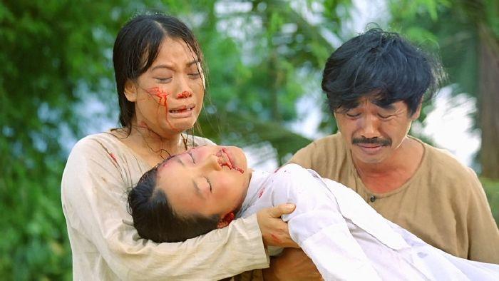 Diễn viên Trương Ngọc Ánh, NSƯT Quốc Khánh trong vai hai vợ chồng Dần và Gù