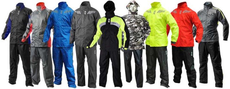 Dòng sản phẩm như quần áo mưa bộ cao cấp Givi được làm trên các loại vật liệu: sợi tổng hợp kỹ thuật, polymer đặc biệt, máy móc sản xuất phức tạo và các quy trình có tính nghiêm ngặt cao