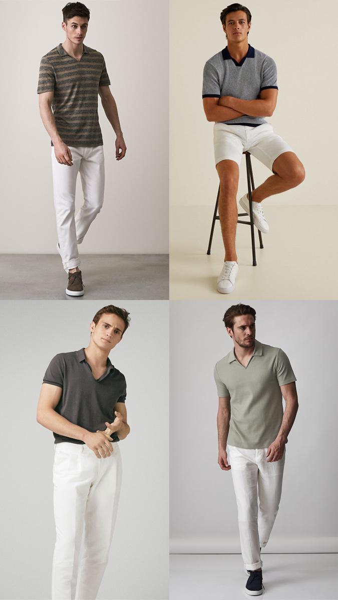 Áo polo và quần kaki
